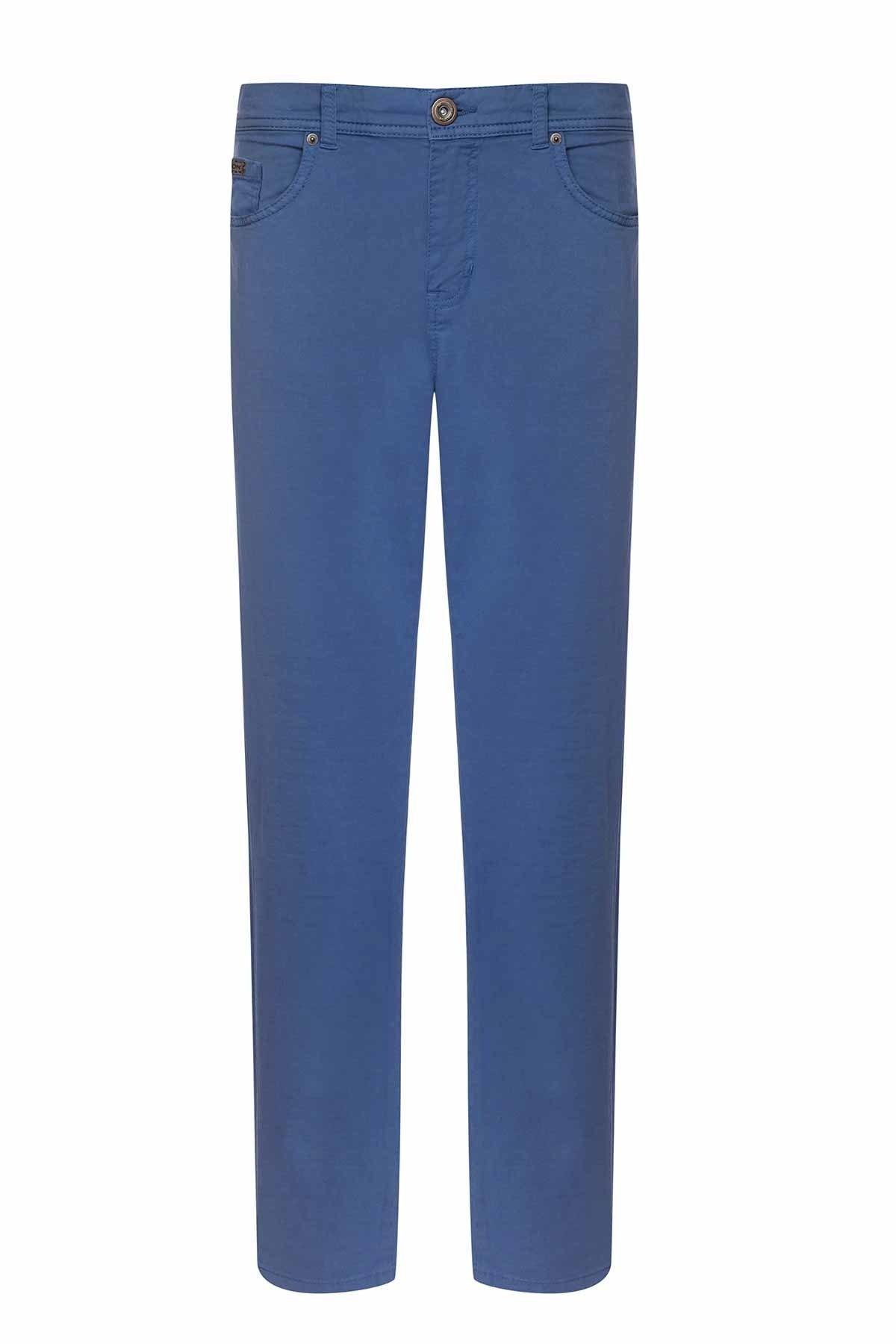 Mavi Slim Fit Spor 5 Cep Pantolon