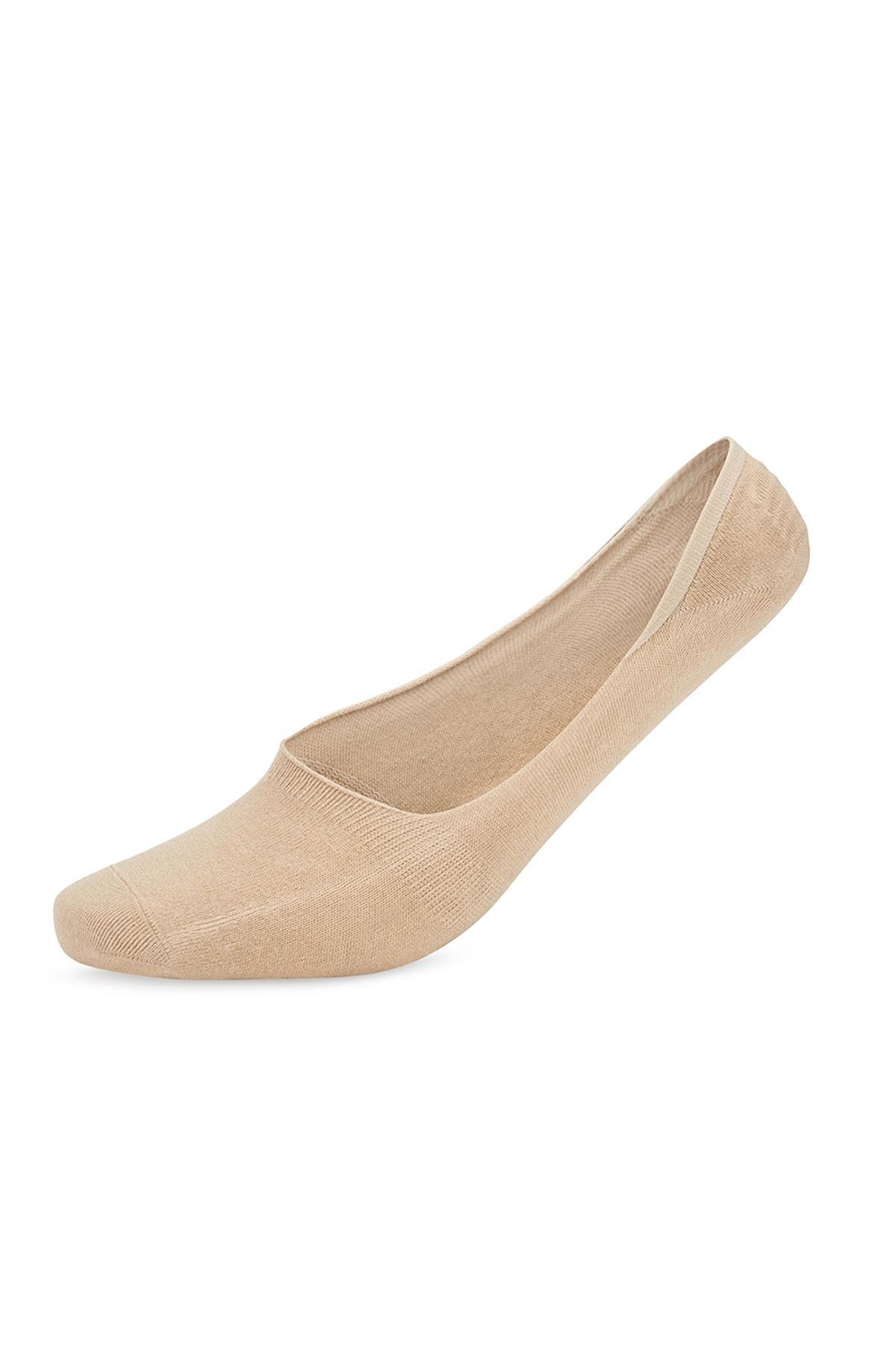Bambu Karışımlı Görünmez Camel Çorap