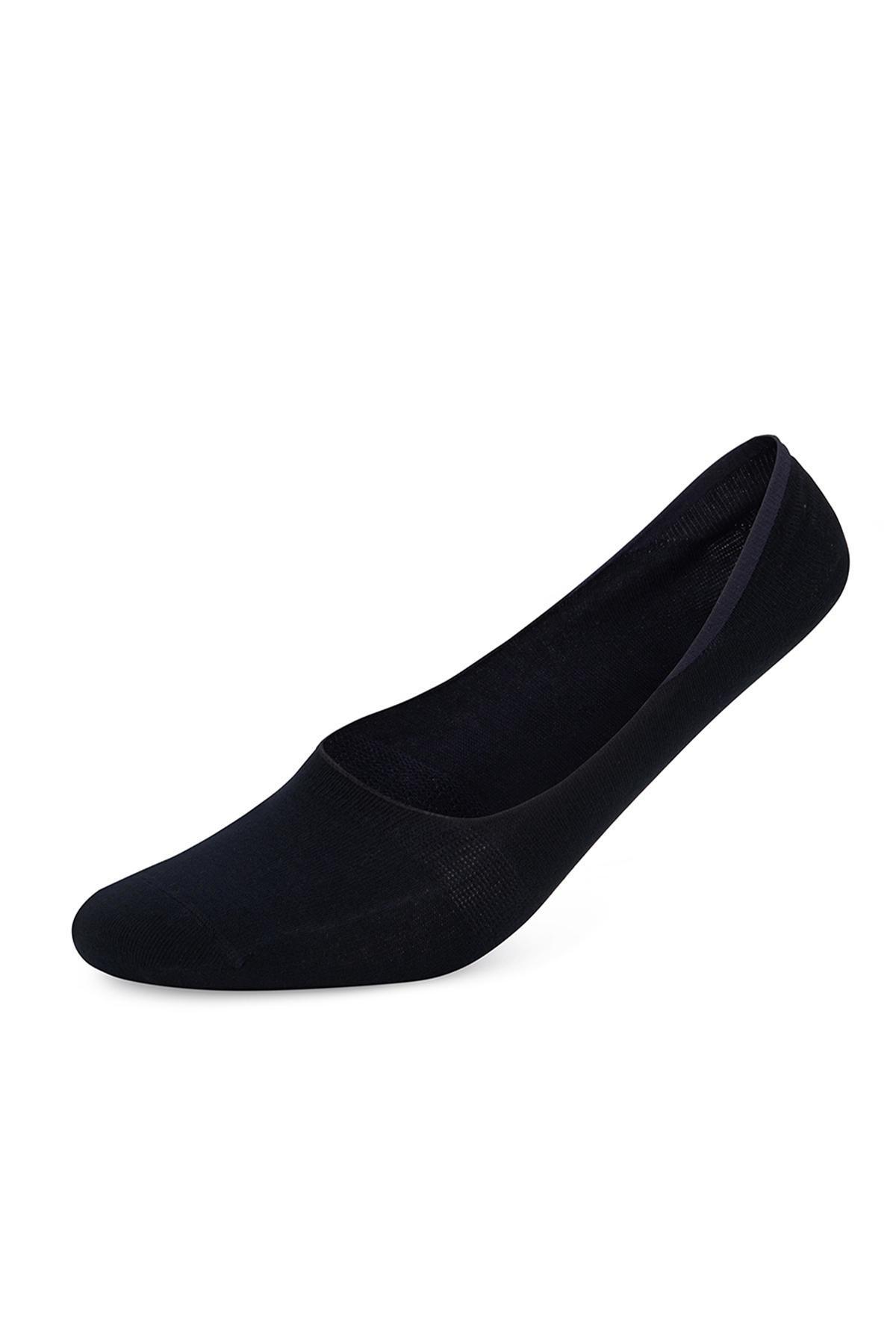Bambu Karışımlı Görünmez Lacivert Çorap