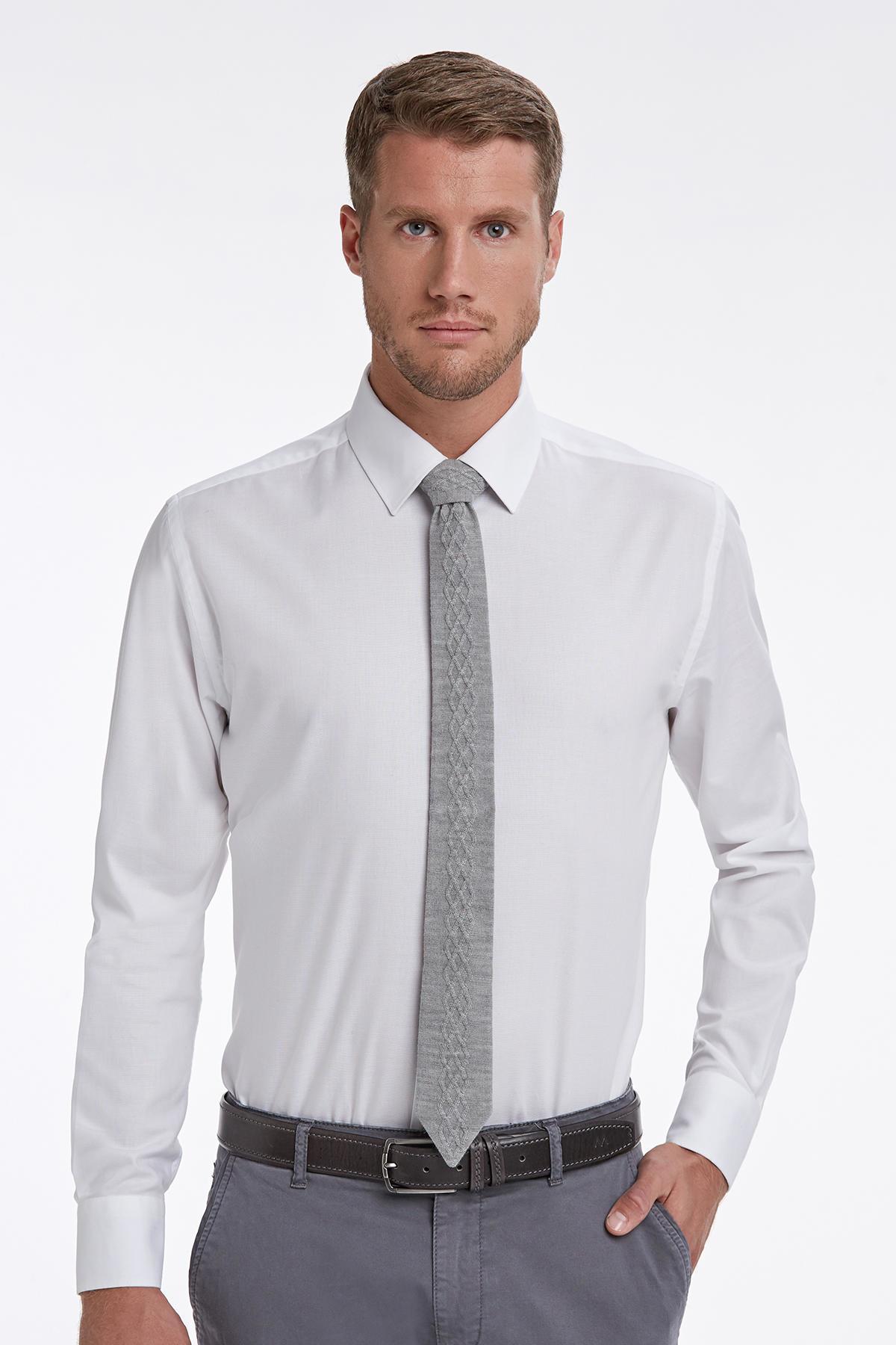 Beyaz Business Gömlek