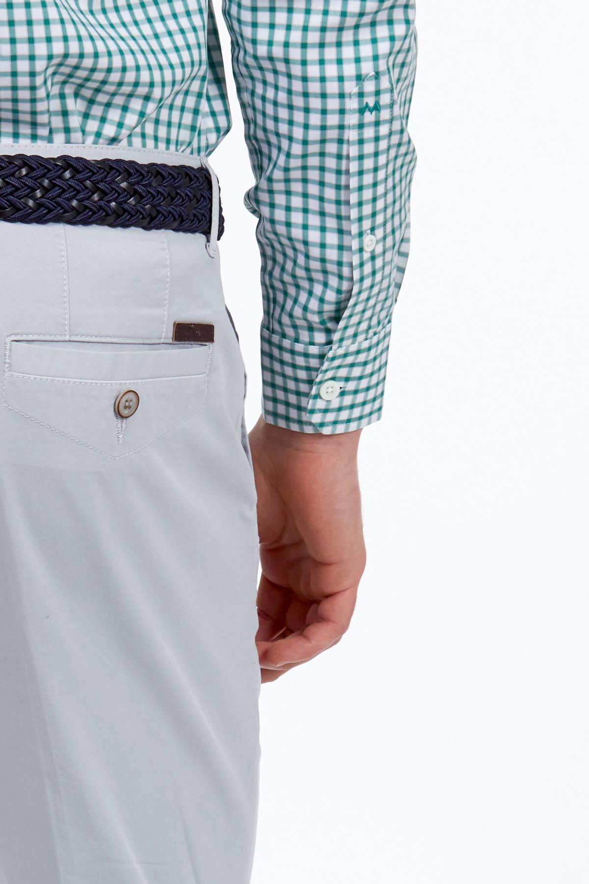Gri Kanvas Pantolon