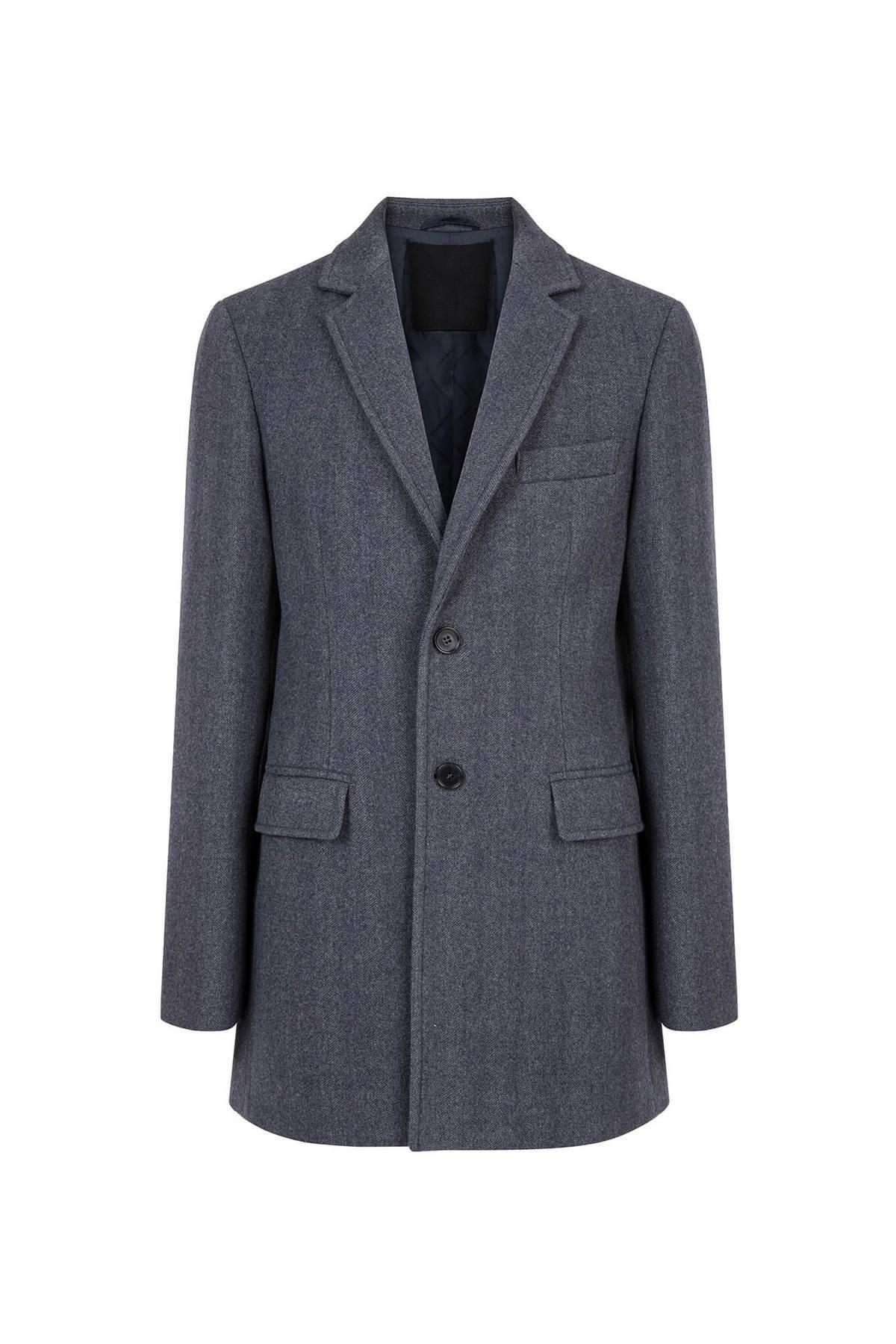Gri Yün Palto