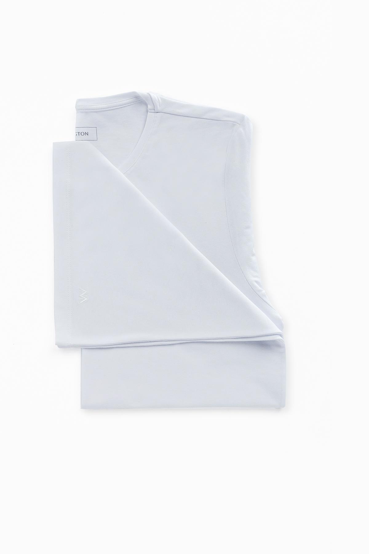 Siyah-Beyaz İkili İç Giyim T-Shirt Seti