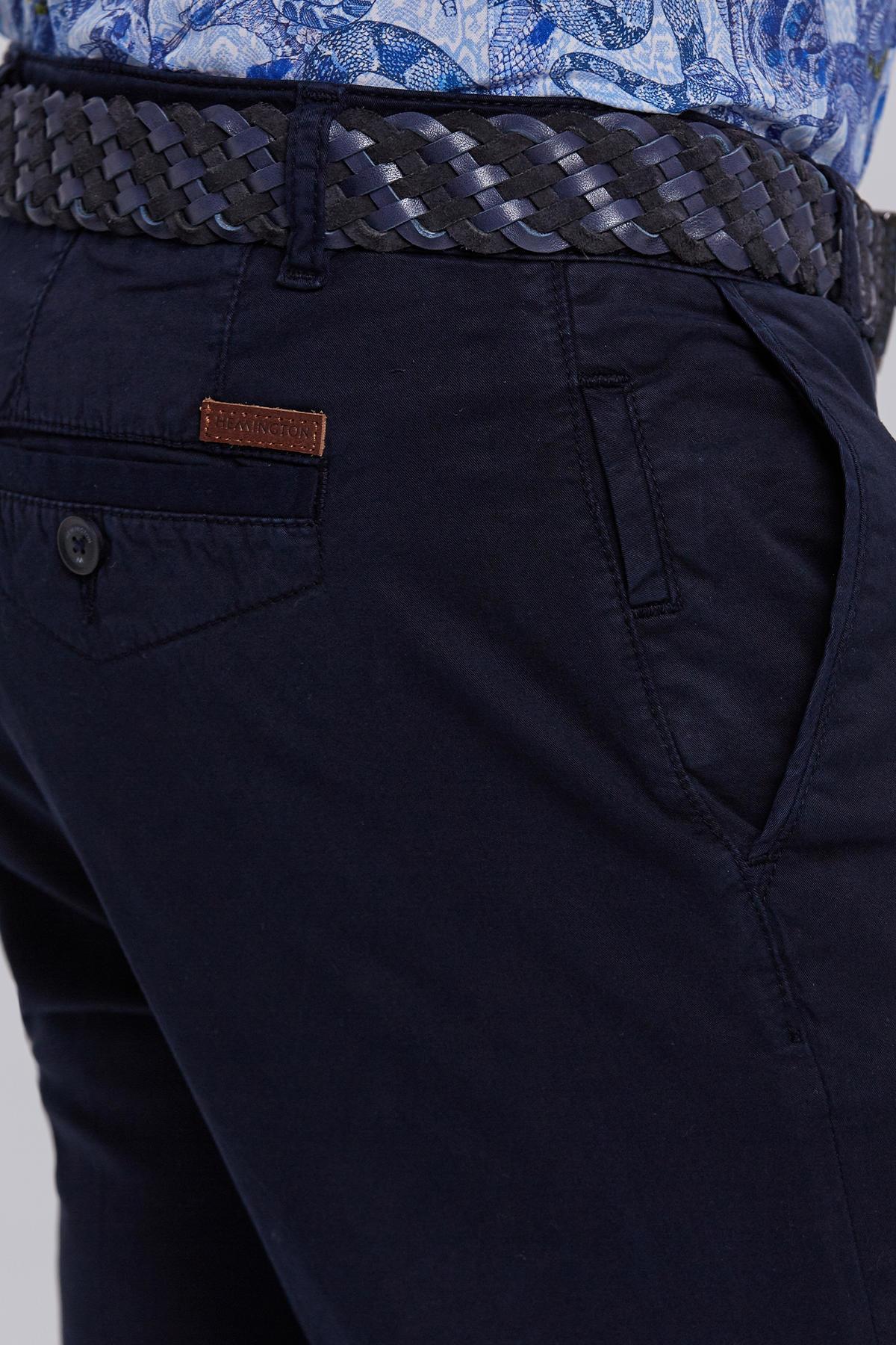 Lacivert Yazlık Chino Pantolon