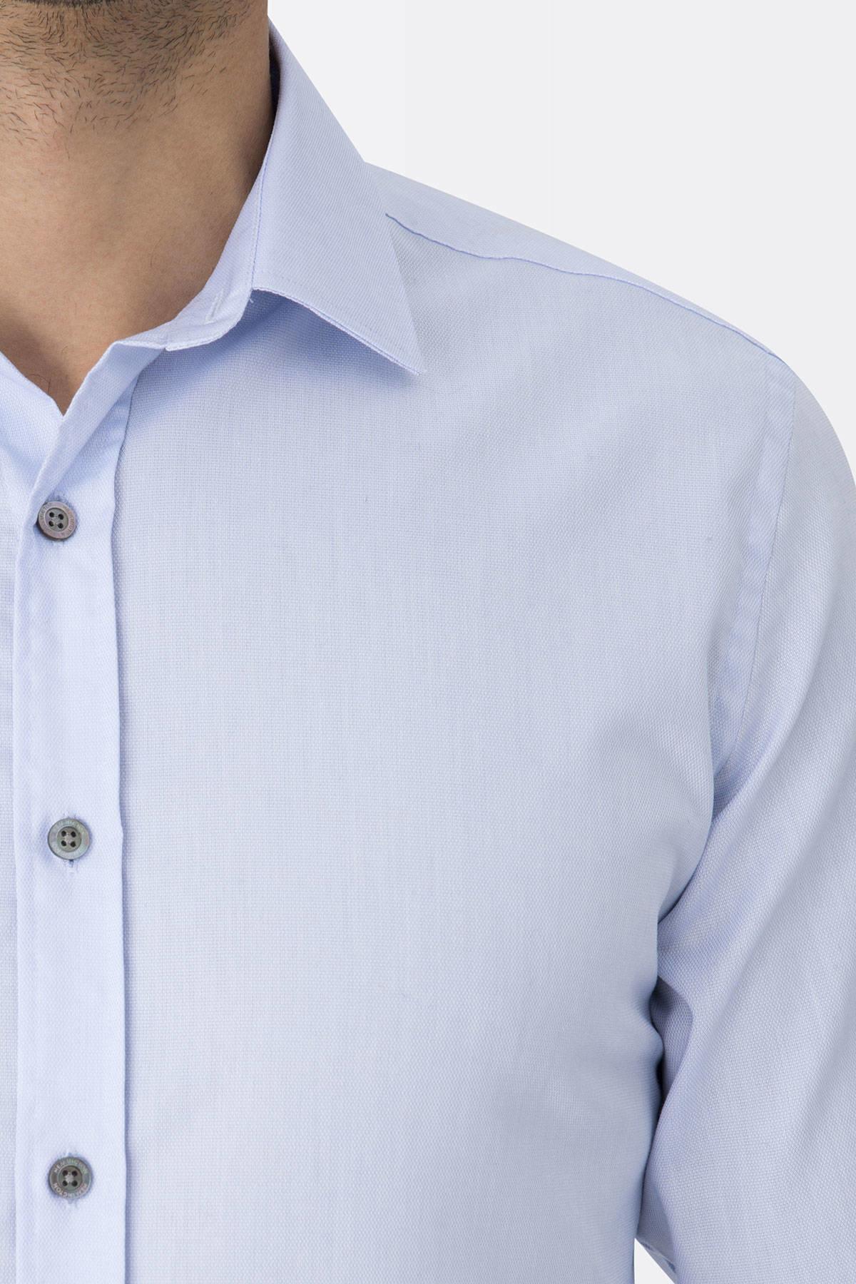 Mavi Non-Iron Business Gömlek