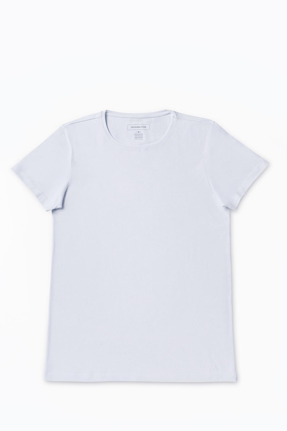 Pamuklu Beyaz İç Giyim T-Shirt