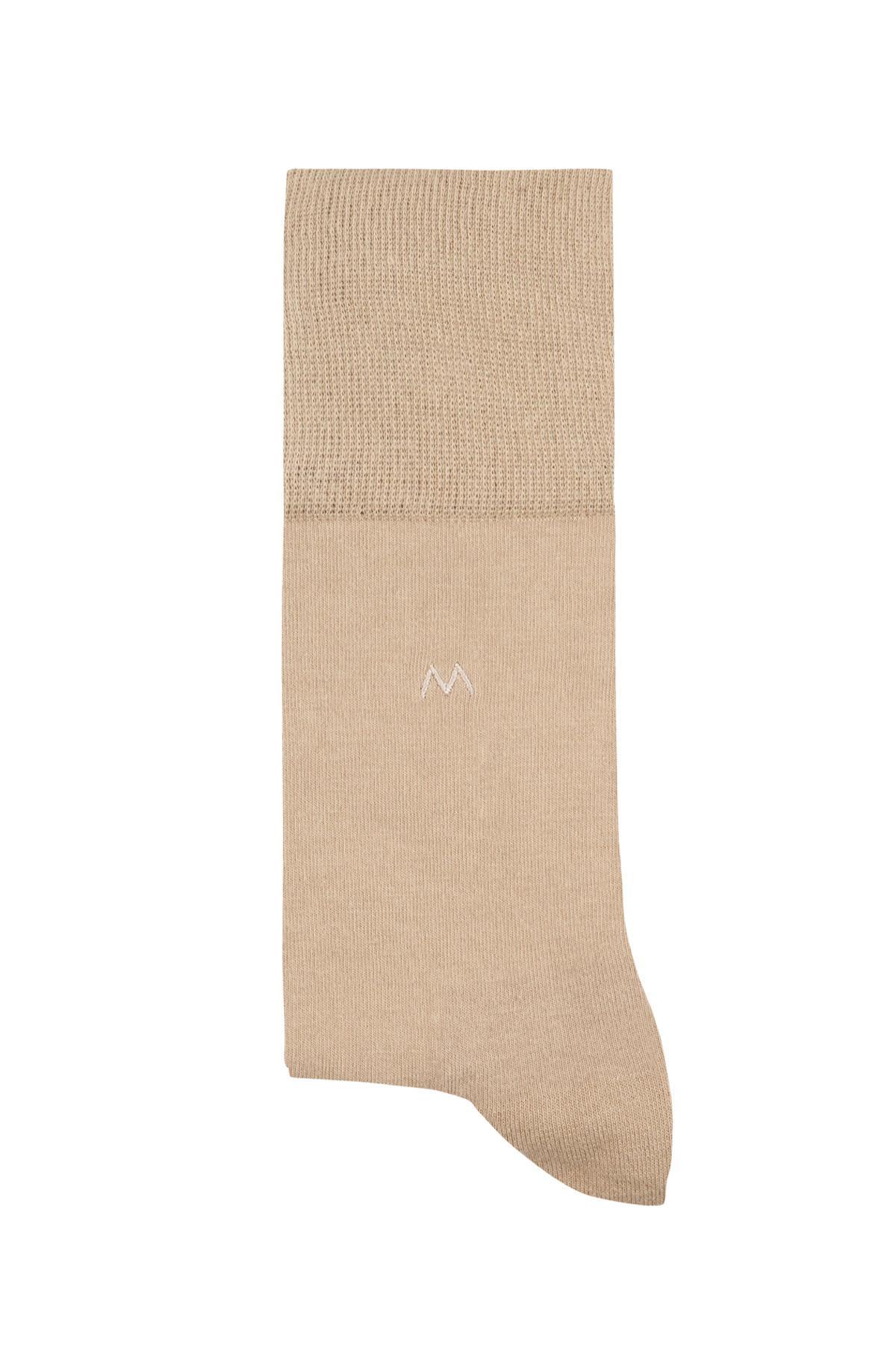 Pamuklu Camel Yazlık Çorap