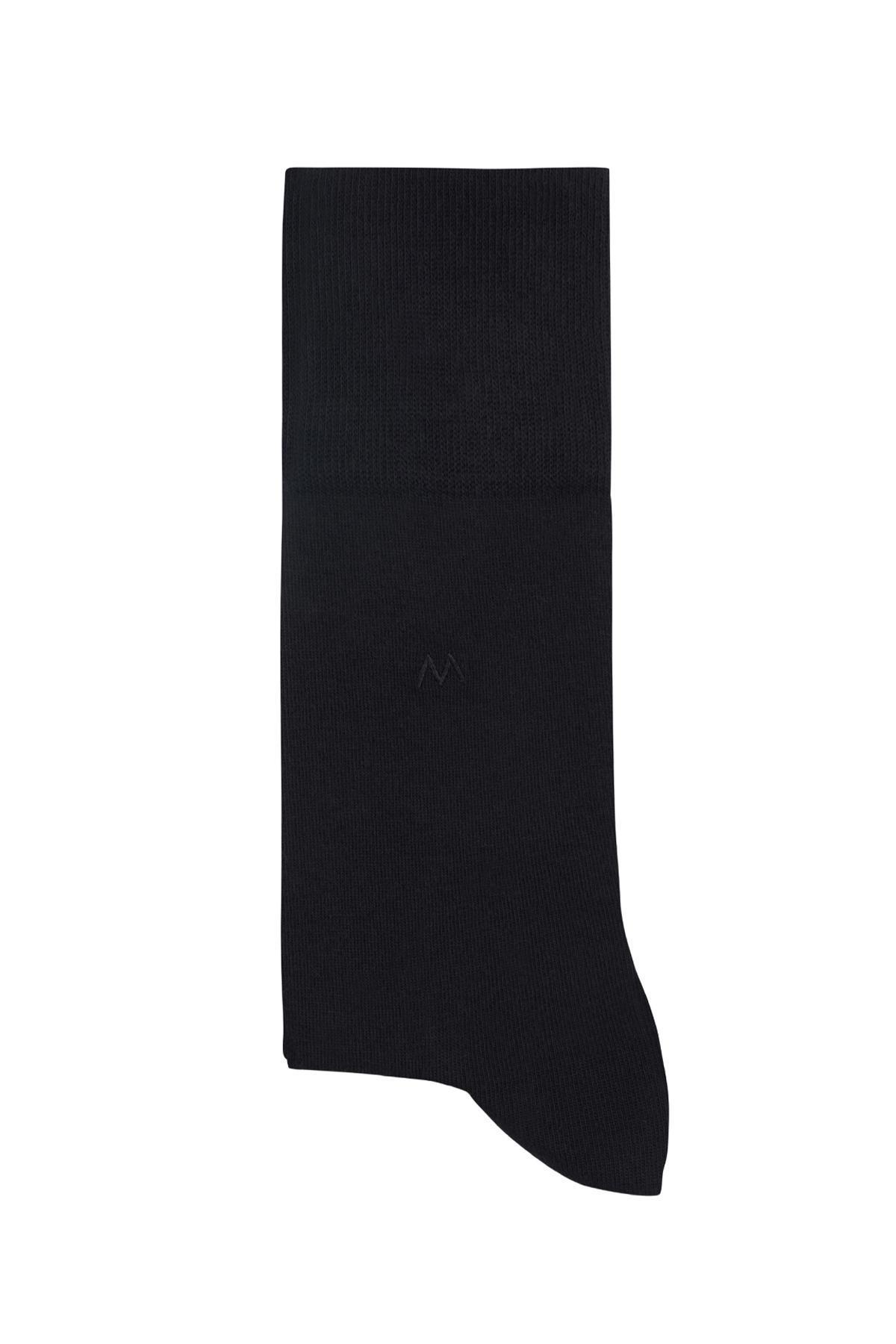 Pamuklu Siyah Çorap