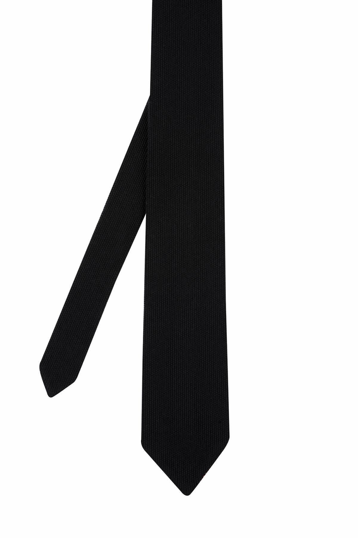 Siyah Örgü Kravat