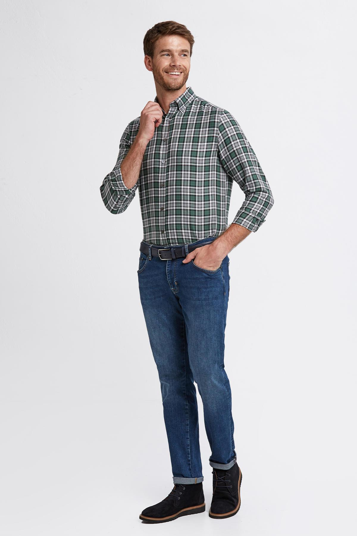 Slim Fit Mavi Denim Pantolon