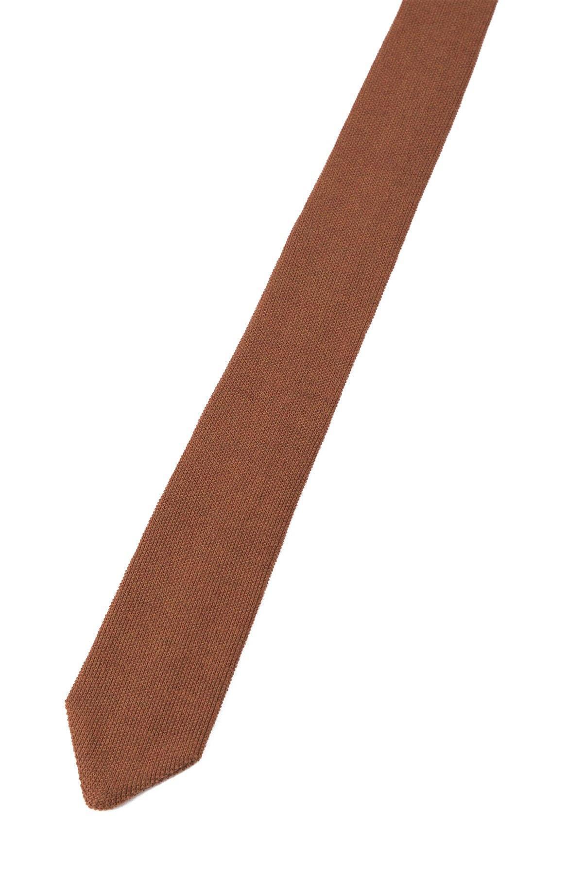 Terracotta Örgü Kravat