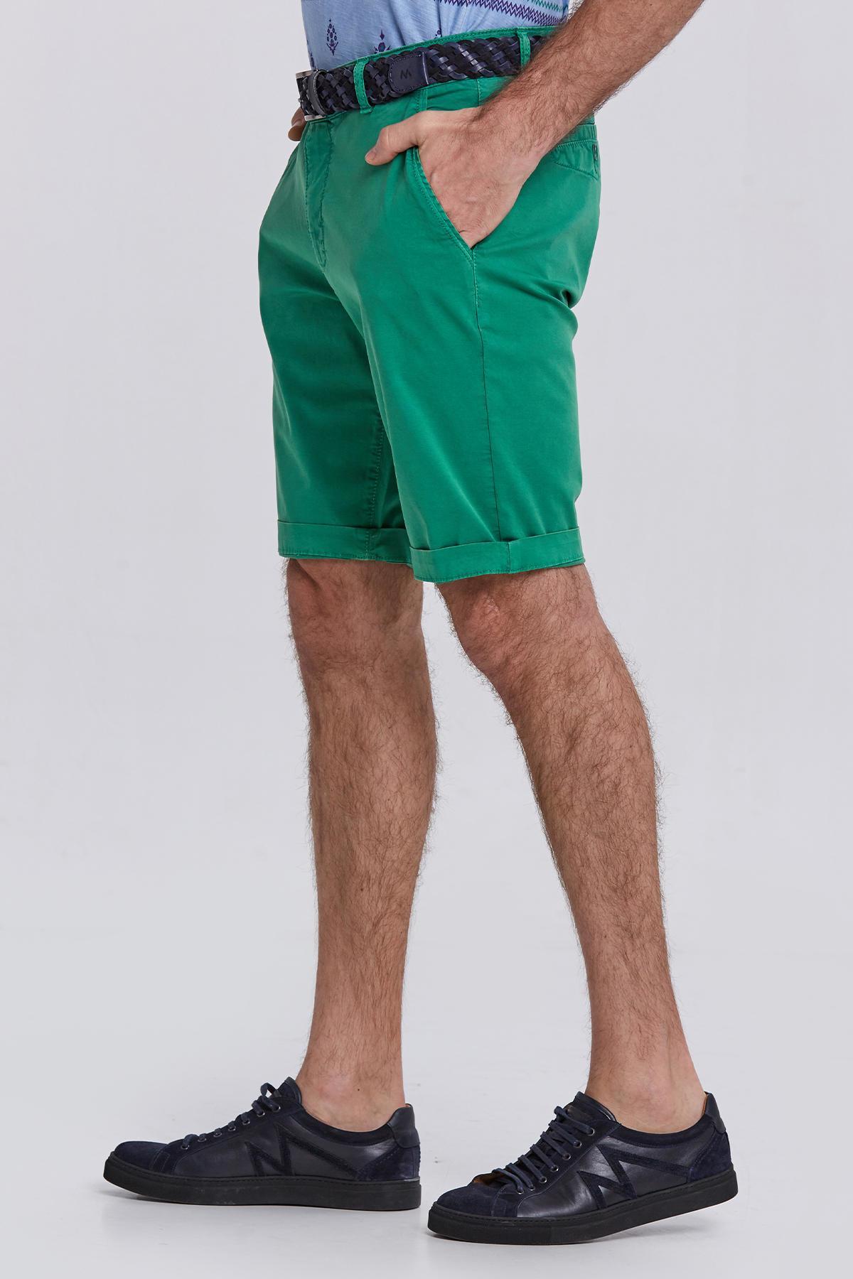Yeşil Chino Şort