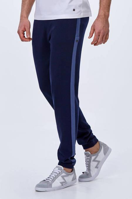 Giza Pamuk Lacivert Triko Lounge Pantolon