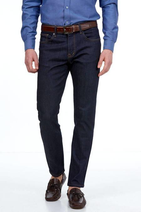 Koyu Mavi 5 Cep Denim Pantolon