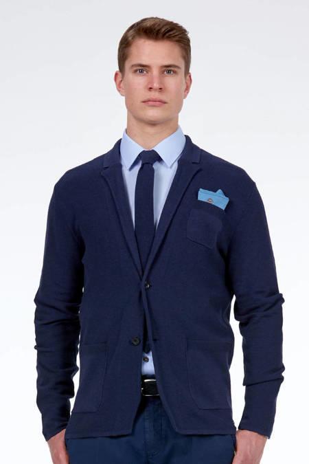 Lacivert Triko Yazlık Ceket