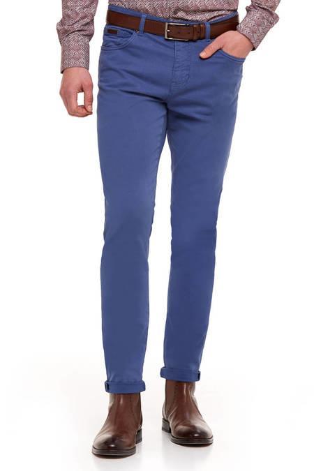 Mavi Slim Fit Kanvas Spor Pantolon