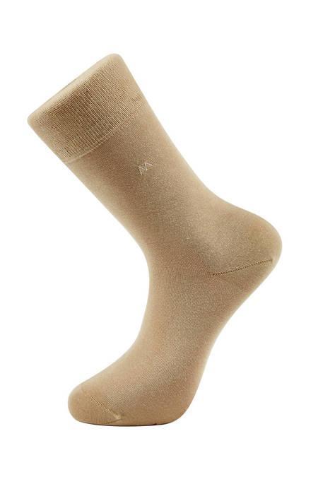 Pamuklu Yazlık Camel Çorap
