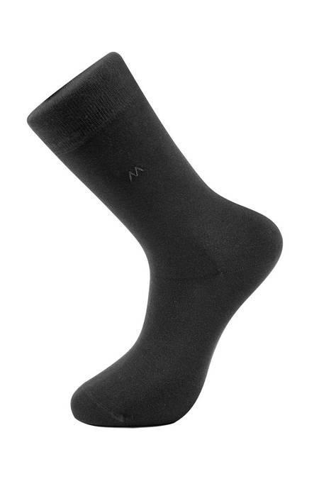 Pamuklu Yazlık Siyah Çorap