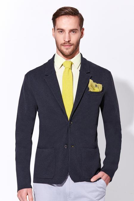 Antrasit Yazlık Triko Ceket